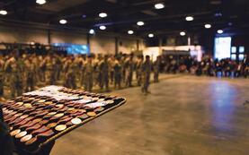 Illustrasjonsbilete, medaljeutdeling i forsvaret. Foto Taral Jansen / Forsvaret