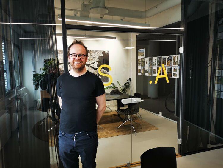 PARTNER: Lars Borgen er partner i Solli Arkitekter AS, og synes det er fint at Arkitektopprøret har oppstått.