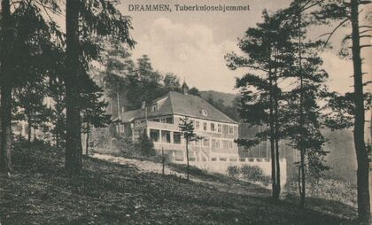 SANITETEN: Det startet som tuberkulosehjem, så ble det føde- og barselavdeling, og til slutt bo- og servicesenter. Sanitetsforeningen eide det frem til 90-tallet.
