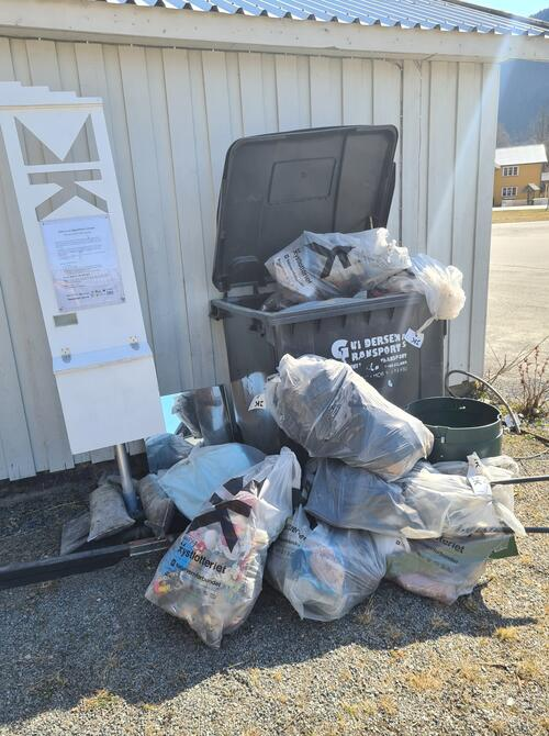 Kanallotteriet - søppel
