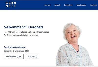 Skjermdropp www.geronett.no