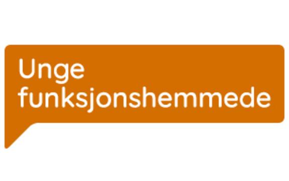 Logoen til Unge Funksjonshemmede