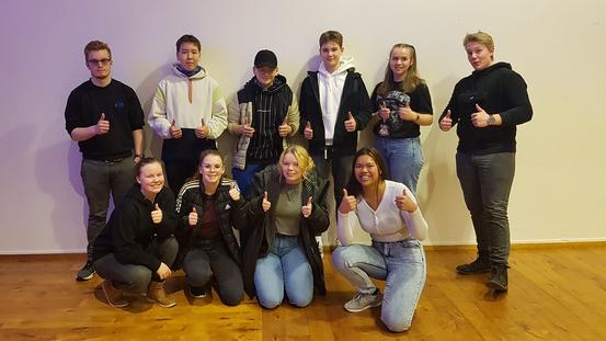 Dyrøy Ungdomsråd, valgt mars 2021