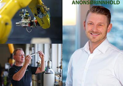 CEO i HTS Dynamics, Anders N. Dahlgren (t.h.).