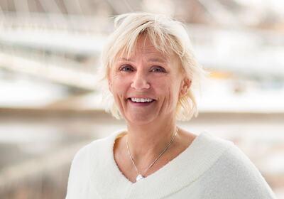 GRÜNDERMAMMA: Lisbeth Torkildsen er et kjent ansikt for innovative mennesker i Drammen.