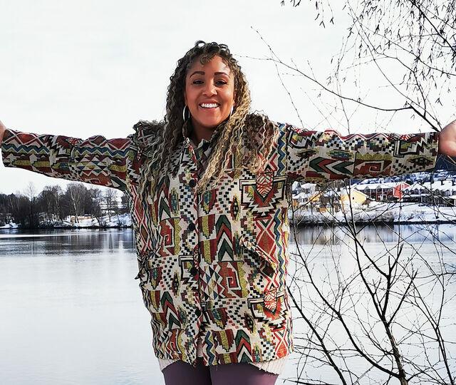 DRAMMENSSTJERNE: Anna-Lisa Kumoji (31), bosatt på Åssiden, skal delta i årets Stjernekamp på NRK.