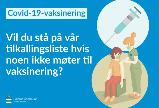 vaksinering tilkalling
