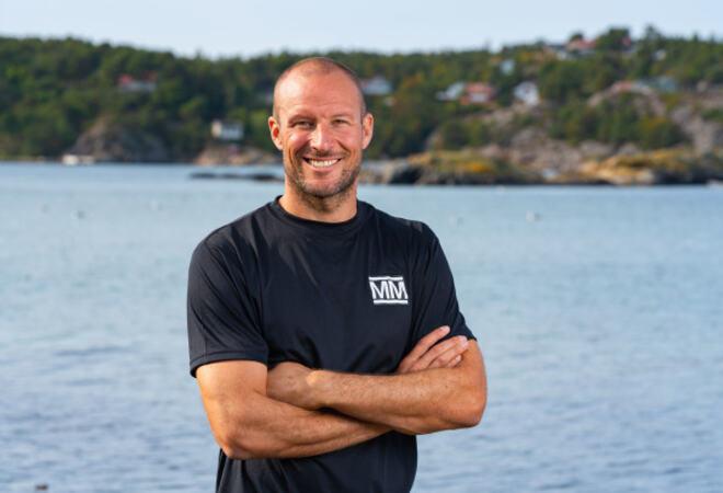 Aksel Lund Svindal er programleder for «Mesternes mester». Innspillingen finner sted fra Lillesand i øst til Søgne i vest. Foto: Sondre Transeth