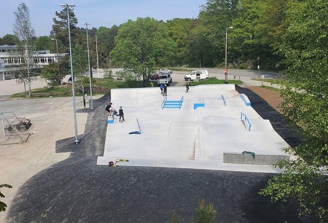 Skatepark Høvåg