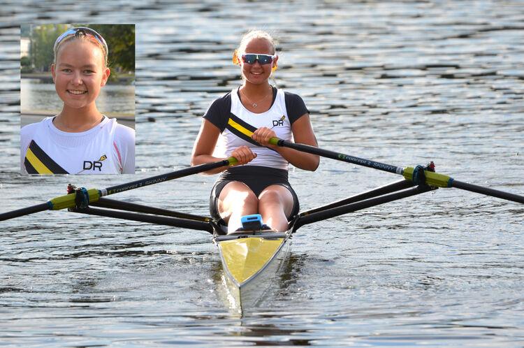 Thea Njaastad (16) er en svært aktiv idrettsjente, og er oppe hver morgen klokken halv fem for å trene.
