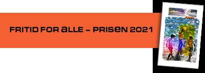 Logoen til fritid for alle-prisen og bilde av prisen