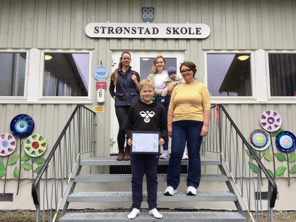 Strønstad skole får heder for miljøinnsats