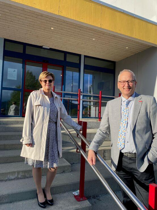 Ordførere i Tjeldsund og Evenes kommuner