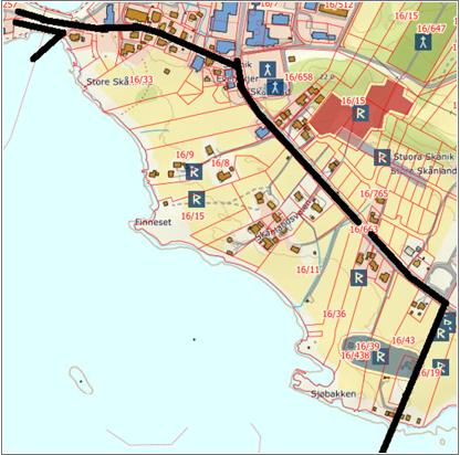 Planvarsel Evenskjer Syd