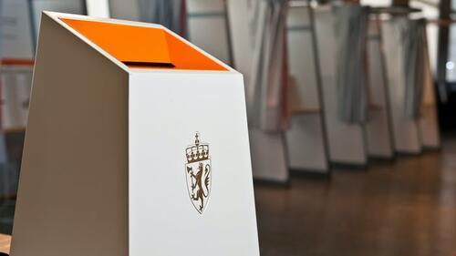 Bilde av valgurne