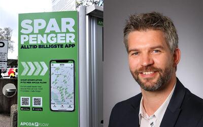 Private parkeringsplasser er en handelsvare, hvor tilbud og etterspørsel bestemmer prisen, sier Driftsdirektør i Apcoa, Carl-Erik Martinsen. FOTO: APCOA
