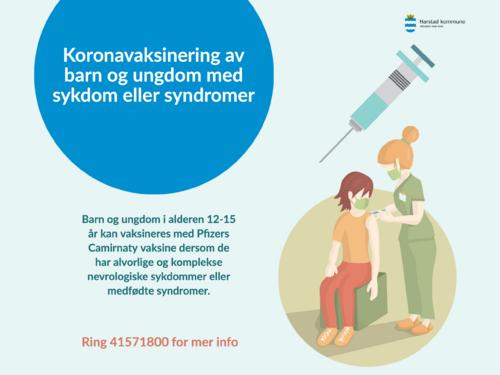 vaksine barn og ungdom