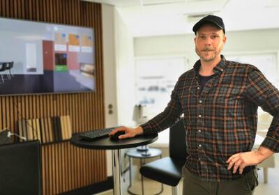 Her kan kundene få hjelp til å møblere det nye hjemmet sitt digitalt.