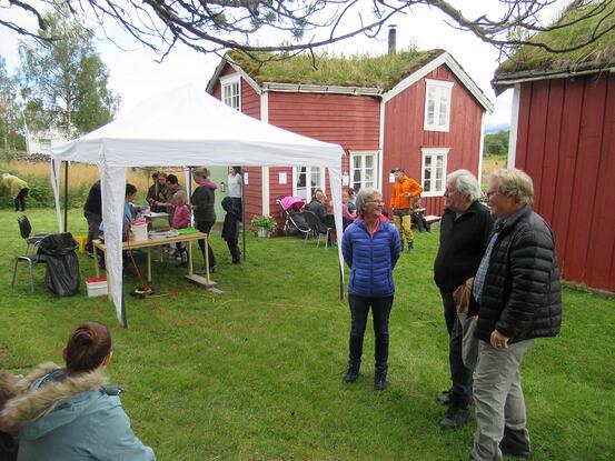Familiedag på Rørvik Gård. Foto: Rørvik Gård