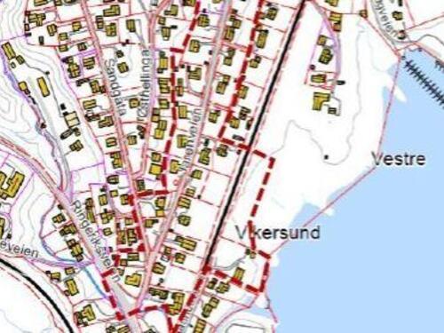 Utsnitt av kart