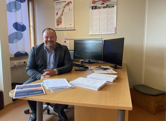 Kommunedirektør Odd-Børge Pedersen