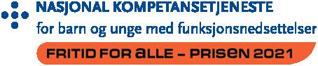 Logoen til fritid for alle-prisen 2021