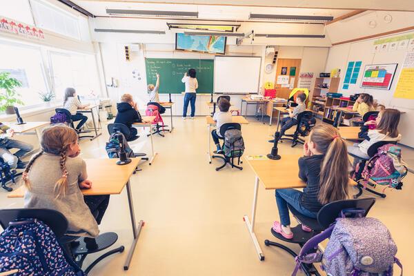 Fra Kanebogen skole. Foto: Øivind Arvola
