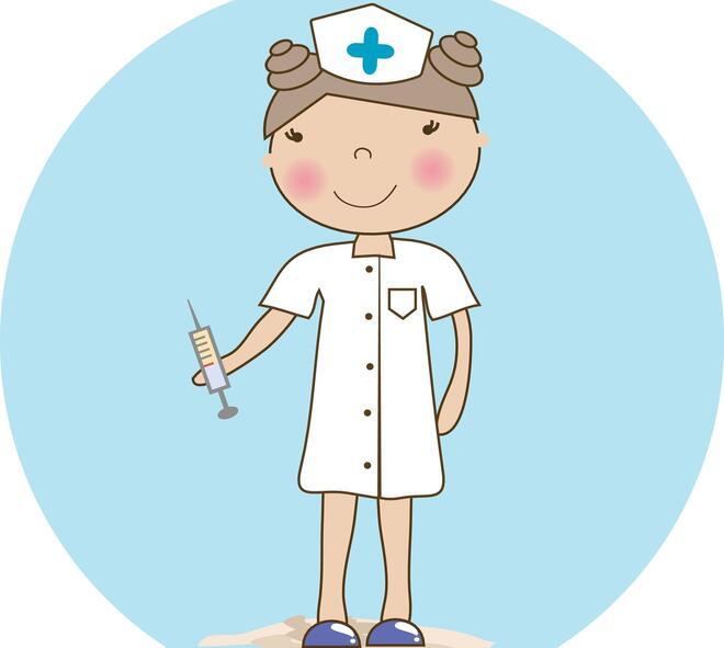 Helsesykepleier - illustrasjon fra Colourbox