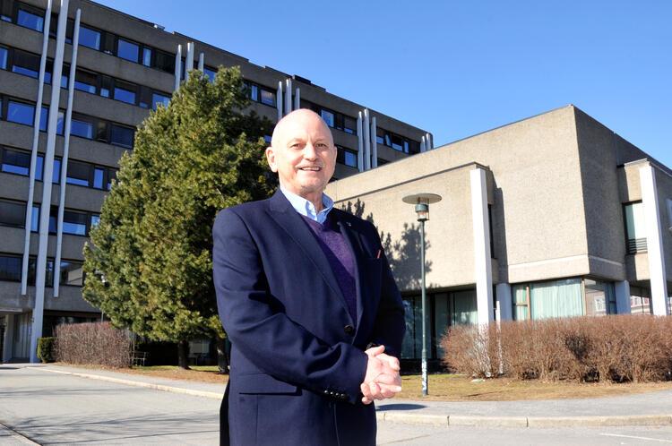 Fylkesordfører Roger Ryberg. FOTO: GEIR A. ARNEBERG
