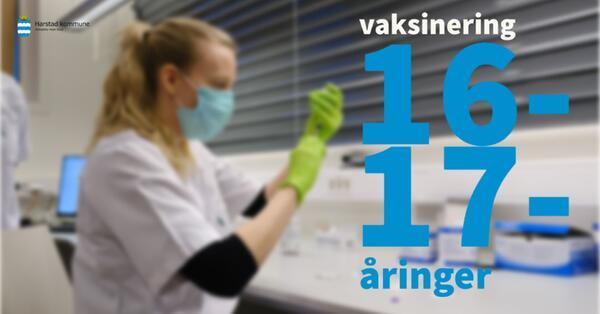 vaksinering 16-17-åringer