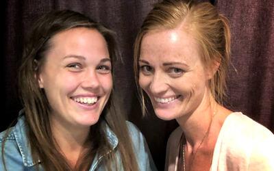 Kunstneriske ledere er Therese Skaar (t.v.) og Siri Løtveit Tofteng.