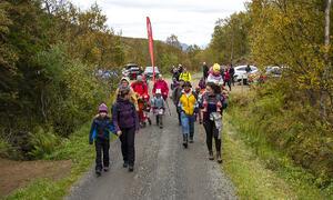 Landstrykerstien på vei Foto Kjell Fredriksen
