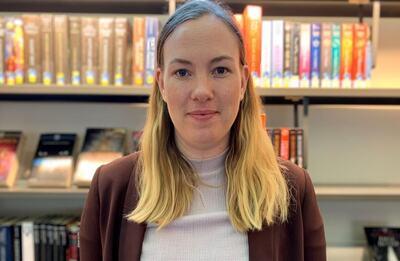 – Det er viktig med et bredt spekter av kunst-, kultur- og bibliotektilbud, som når hele befolkningen i Viken, sier Tonje Kristensen (Ap). FOTO: ANDRÉ STRAND, VIKEN
