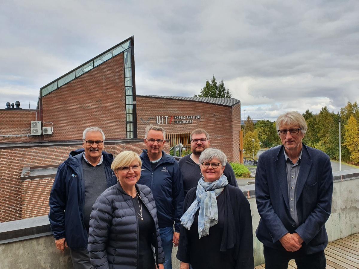 Midt- og Nord-Troms Studiesenter på besøk ved UiT campus Alta.