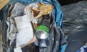 Overfŧlte søppeldunker5