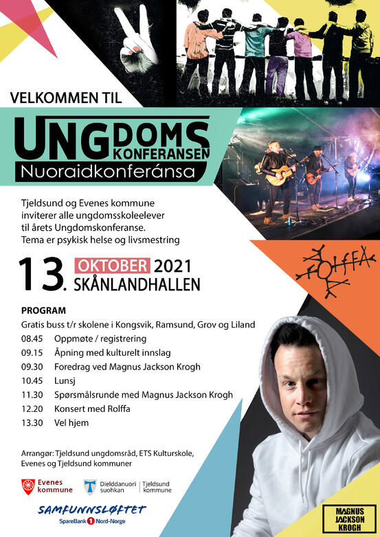 Ungdomskonferansen plakat 2021