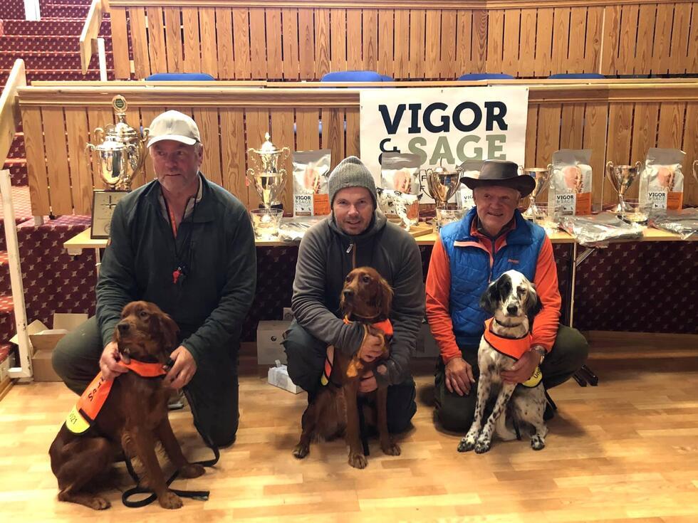 Vinner unghund Grand Prix