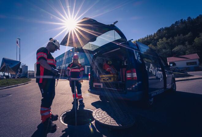 VAnn og avløp. Foto: Øivind Arvola