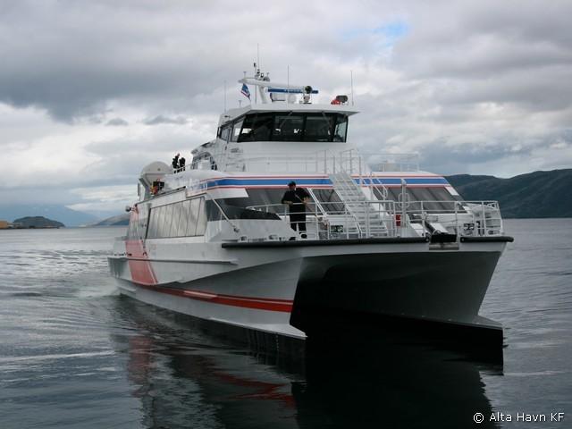 Hurtigbåten MS Jernøy