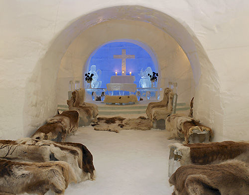 Alta Igloo Hotell. Foto: Alta Friluftspark AS