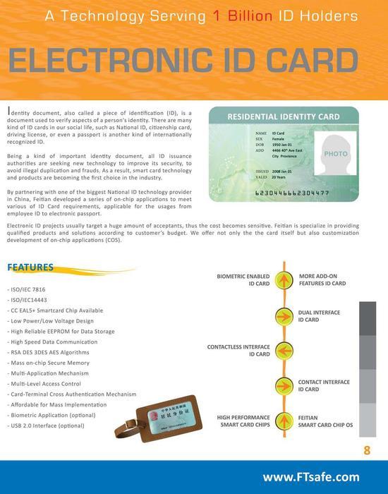 Electronic ID Card Brochure