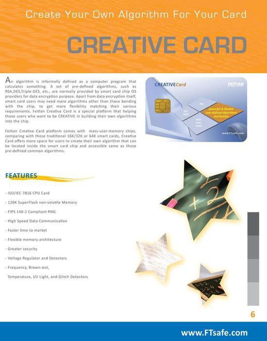 Creative Card Brochure